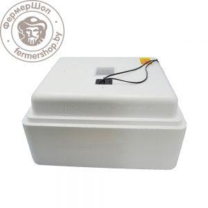 Инкубатор Несушка 63 автомат, аналоговый с цифровым табло+12В, №75