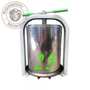 Пресс винтовой ЛАН 25 литров