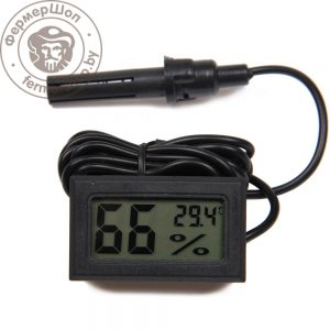 Гигрометр электронный с выносным датчиком
