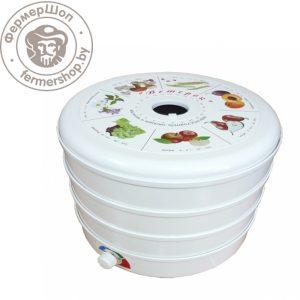 Сушилка для овощей и фруктов Ветерок (3 поддона, белая)