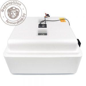 Инкубатор Несушка 104 автоматический, цифровой, 12В+вентиляторы, гигрометр, испаритель №69ВГ